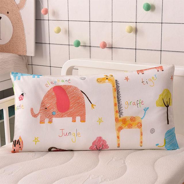 Kids Cartoon Printed Cotton Pillow 1