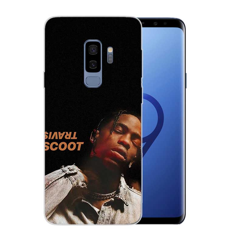 Painted Pattern TPU Back Case For Samsung Galaxy M10 M20 S10 lite S9 S8 Plus A10 A30 A50 Cover Travis Scott Astroworld in Fitted Cases from Cellphones Telecommunications