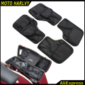 Black Saddlemen Hard Saddlebags Lid Organizer Kit For 1996-2013 Harley Touring