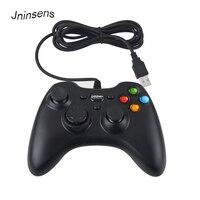 뜨거운 판매 유선 USB PC 게임 패드 게임 컨트롤러 조이패드 진동 조이스틱 컴퓨터 노트북 PC 게임 패드 제어