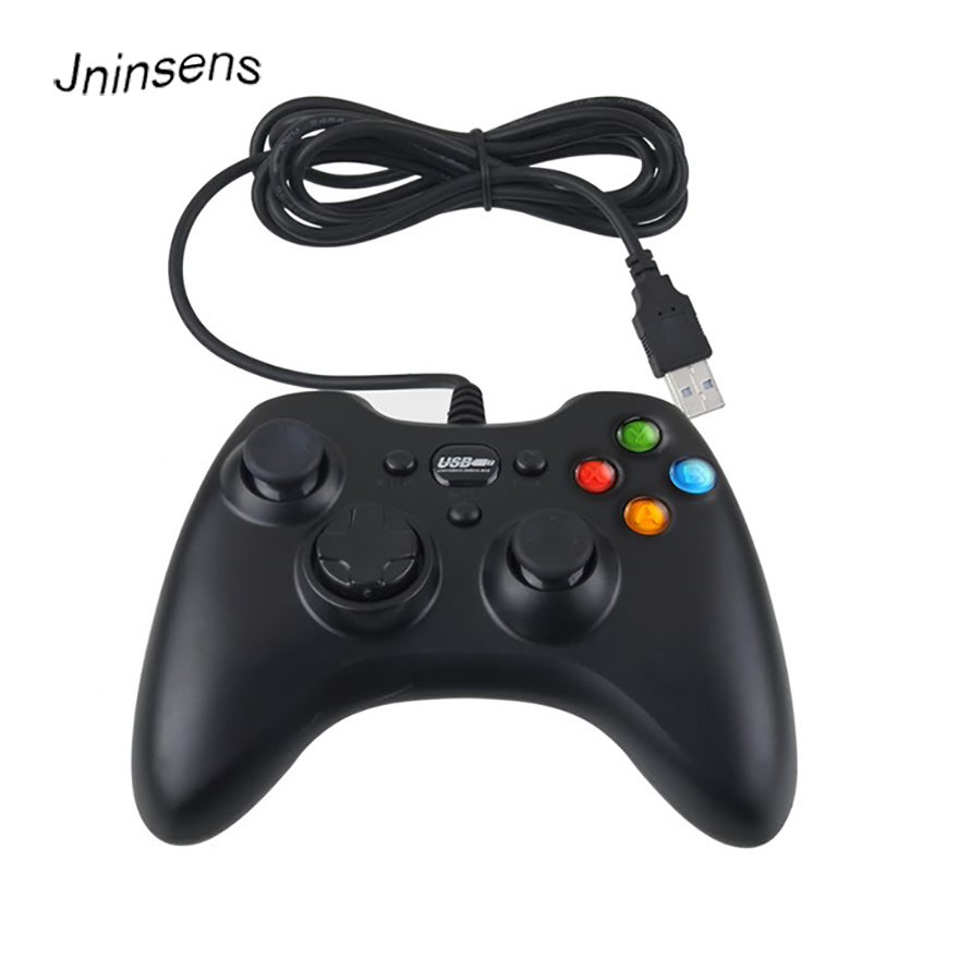 Hot Sale Wired USB PC GamePad Game Controller Joypad With Vibration Joystick for Computer Laptop PC Game Pad Control