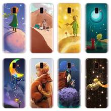 The little prince Rose fox Silicone TPU Phone Case for Samsung Galaxy J4 J5 J6 Plus J7 J8 2018 J5 J7 Prime Soft cases(China)