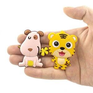 Image 4 - مغناطيس الثلاجة بأشكال كرتونية لطيفة من السيليكون على شكل حيوان زودياك صيني ثلاجات تذكارية ثلاجات مغناطيسية للديكور المنزلي للأطفال لعبة تزيين