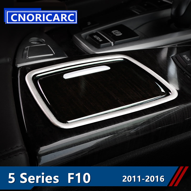 CNORICARC Edelstahl Styling Schalthebel Aschenbecher Rahmen Auto ...