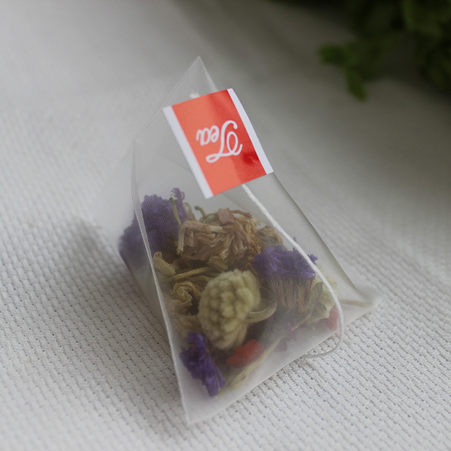 Nylon Empty Pyramid Tea Bag Tea Infuser New Tea Strainer Teabags 1000pcs lot