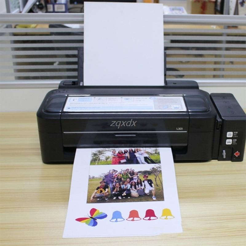 A4 papel fotográfico magnético de hoja imprimible imanes de nevera de inyección de tinta de imán de papel de imagen acabado mate Z11 de la nave de la gota