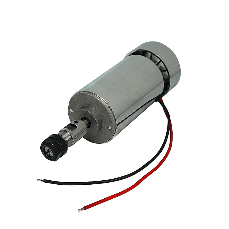 300W DC 12-48V 12000rpm CNC Spindle Motor 55mm for wood PCB cnc router milling machine
