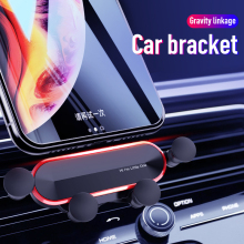 Car phone holder for phone in car air ou