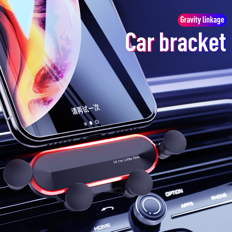 Car Phone Holder For Phone In Car Air Outlet Mount Non-magnetic Holder Mobile Holder For IPhone Smartphone Gravity Clamp