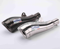 New Model ID 51mm Universal Modified Motorcycle Exhaust Pipe Muffler with DB Killer Stainless Steel leovince auspuff Exhaust