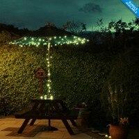 Nuevo producto de China por mayor Solar LED jardín exterior luz de la navidad decoración de la secuencia ligera floral