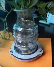 25 12 V Marine Boat Light Bulb W Lâmpada Sinal de Luz de Navegação Tudo Em Torno de 360 Graus Noite Iluminação Vermelho/ verde/Branco