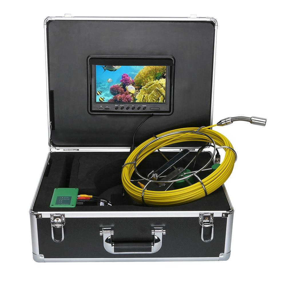 20m Ip68 Waterproof Drain Pipe Sewer Inspection Camera