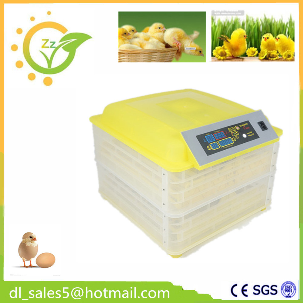 ФОТО  China Cheap Small Brooder 96 Eggs Incubator  Mini Poultry Hatchery Machine for hatching Chicken Duck Birds