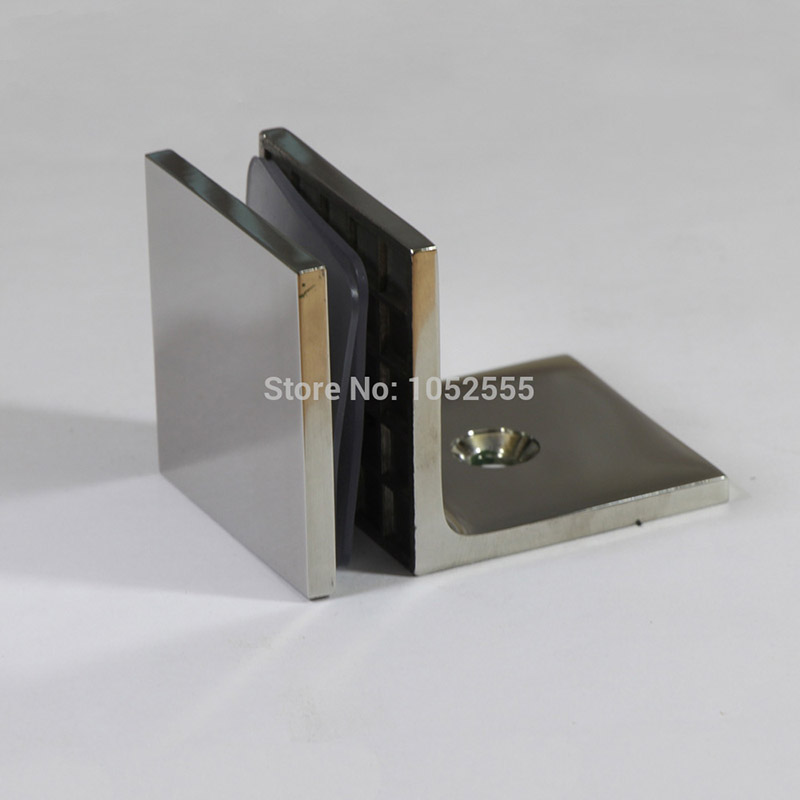 304 Stainless Steel Casting 90 Degree Frameless Shower Door Hinges