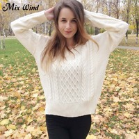 Mix Wind Bursts Of Hot Women S Sets Of Women S Sweater Sexy V Neck Knitted