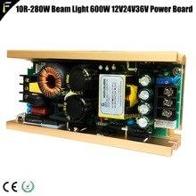 600w 390v24v36v fonte de alimentação 330 w r15 feixe movente cabeça luz 15r 330 sharpy feixe luz fonte de alimentação 600watt módulo unidade