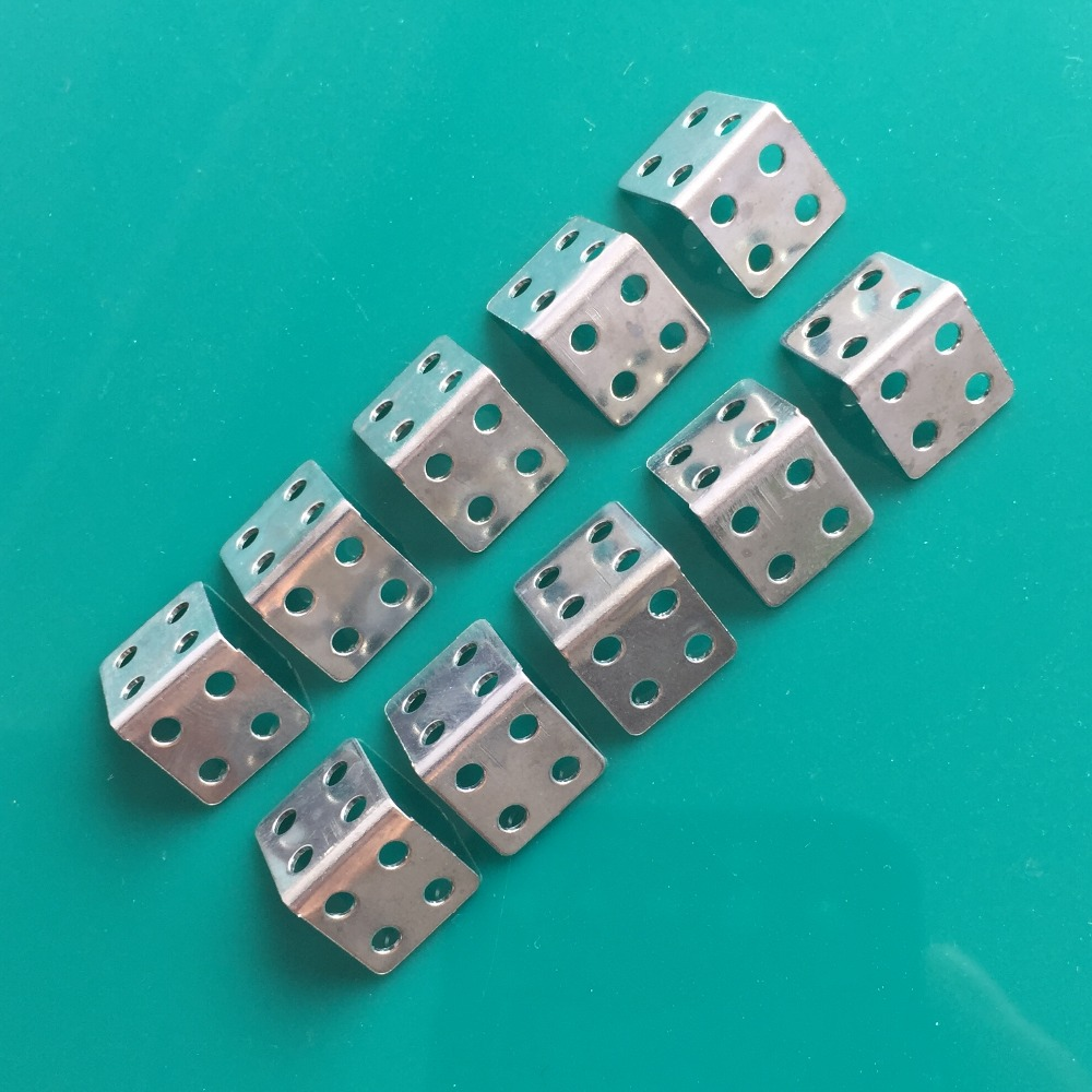 10pcs K784Y Multi Hole Right Angle Iron Hole Diameter 2.05mm For DIY Model Car Making