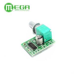 Image 2 - 100 PAM8403 mini 5 V placa amplificador digital com interruptor potenciômetro pode ser alimentado por USB