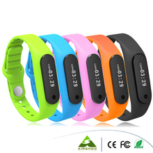 2016 Brand New Hot E06 Smart Bracelet For Iphone IOS Android Mobile Phones Bluetooth Sport Pedometer Health Tracker Wristbands
