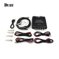 Hantek 1008C USB 8CH Automotive Diagnostic Oscilloscope DAQ Program Generator Free Shipping
