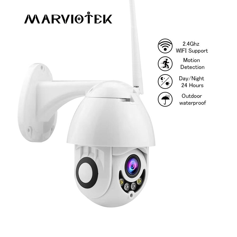 Caméra IP WIFI 1080 P caméra cctv Extérieur caméra ptz Mini Vitesse Dôme Accueil caméras de sécurité HD Extérieur Vidéo Surveilance P2P IR