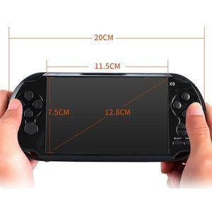 Image 4 - Powkiddy Retro Handheld Spiel Controller 8GB 5,1 Zoll Bildschirm Klassische Spiele AV Ausgang TV Video Spielkonsole Unterstützung Film kamera