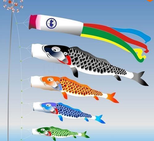 Buy koinobori koi nobori carp windsocks for Japanese fish flag