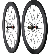 цены 2018 ICAN new 700C carbon wheels 55mm clincher tubeless road bike wheel 25mm AERO U shape UD matt with Nov hub