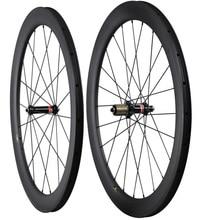 2020 ICAN nieuwe 700C carbon wielen 55mm clincher tubeless racefiets wiel 25mm AERO u-vorm UD matt met November hub