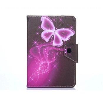 Myslc couverture universelle pour HuaWei MediaPad T1 8.0/T3 8.0/M3 lite 8.0/M5 8.4 8 pouces tablette imprimé PU étui en cuir pour support