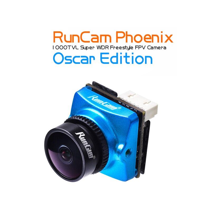 """RunCam PPHOENIX OS 2.5 مللي متر عدسة طبعة 1000TVL FPV كاميرا 1/3 """"120dB WDR الاستشعار NTSC/PAL للتحويل ABS ل طائرة بدون طيار FPV-في قطع غيار وملحقات من الألعاب والهوايات على  مجموعة 1"""