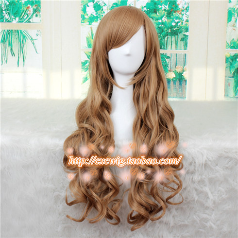 Aisaka Taiga Cosplay Wig Toradora! TIGER x DRAGON Curly Wavy Synthetic Hair