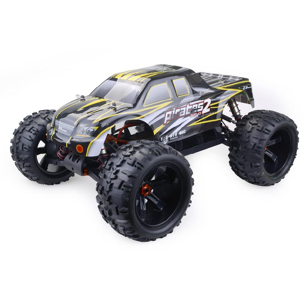 LeadingStar ZD Racing 9116 V3 1/8 4WD Brushless Electric Truck Metal Frame Brushless 100km/h RTR RC Car Without Battery image