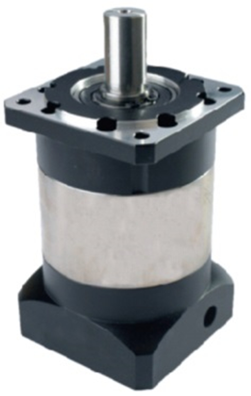 90mm planetary gear reducer 7 arcmin 1 stage Ratio 3:1 to 10:1 for 80mm 750W AC servo motor input shaft 19mm