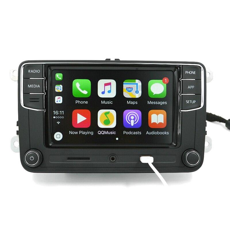 2018 Auto autoradio 6.5 pouces écran tactile voiture jouer voiture Radio mains libres haute définition Bluetooth voiture lecteur MP3 affichage MP3