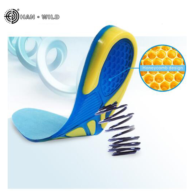 Silicone Gel Insoles Foot Care for Plantar Fasciitis Heel Spur Sport Shoe Pad Insoles Arch Orthopedic Insole ...