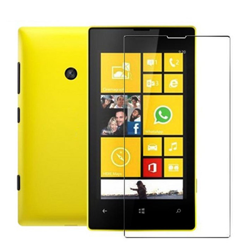 2016 New 3pcs Anti-Scratch Clear LCD Screen Protector Film Guard for Nokia Lumia 520 ap13