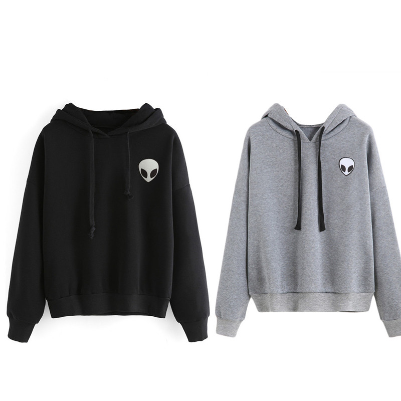 1Pcs Plus cashmere Long-sleeved fashion Man and woman Hoodies Hooded
