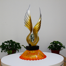 Abstract Phoenix decoration crafts ornaments living room