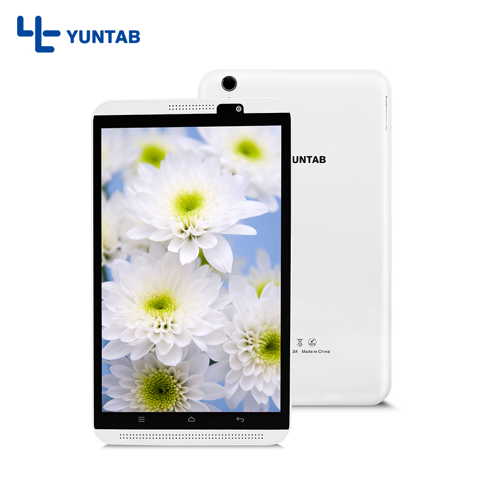 Yuntab white 8inch H8 Android 6.0 Tablet PC 4G Cellphone High resolution 800*1280 Quad-Core with dual camera yuntab 4g tablet 2colors 8 inch h8 tablet pc android 6 0 smartphone high resolution 1280 800 phablet quad core with dual camera