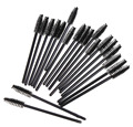 Hot Sale 100 Pcs Disposable Eyelash Mini Brush Mascara Wands Applicator Spoolers Makeup
