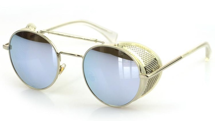 Steampunk Sunglasses With Side  aliexpress com 2016 newest fashion men steampunk retro round