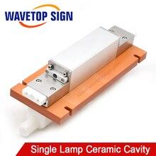 WaveTopSign Machine de soudage Laser lampe simple cavité en céramique utiliser lampe au xénon 8*125*270mm tige de cristal 7*145mm
