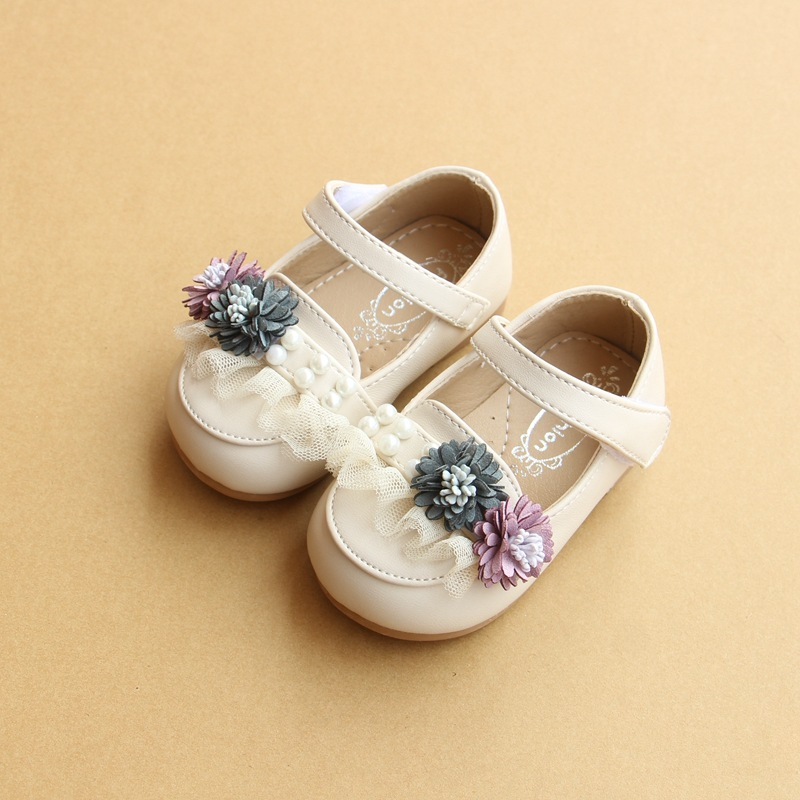 Baby First Walkers Baby Shoes Leather Shoes for Baby Girls Fashion Princess Shoes