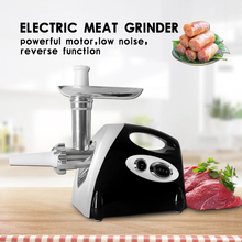 ITOP Electric Meat Grinder Household Kitchen Chopper Mincing Machine Sausage Stuffer With 3 Cutting Plates UL/EU Plug