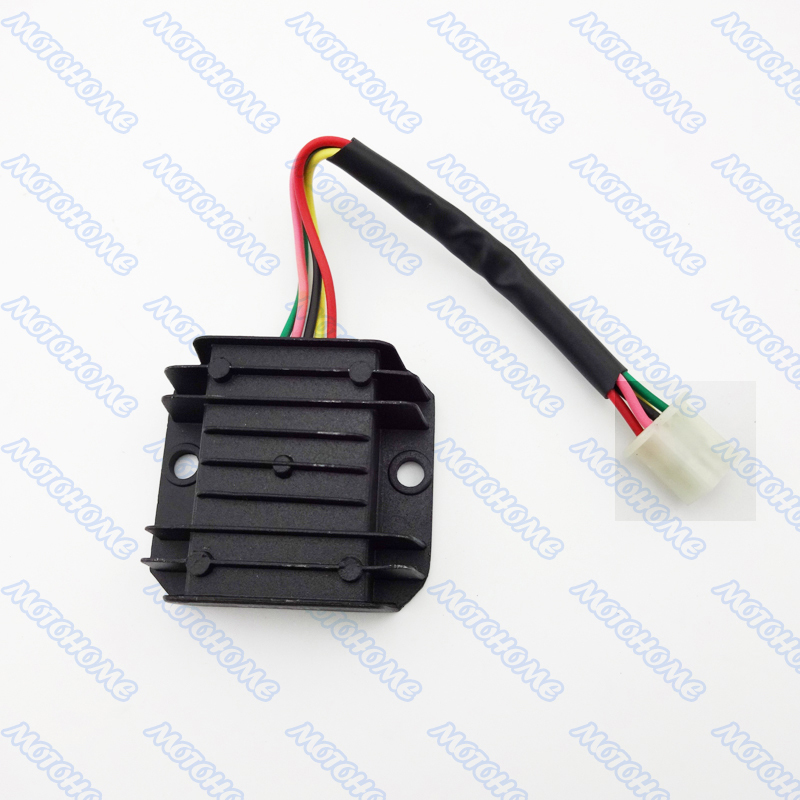 5 pin wire voltage regulator rectifier for gy6 125cc 150cc. Black Bedroom Furniture Sets. Home Design Ideas