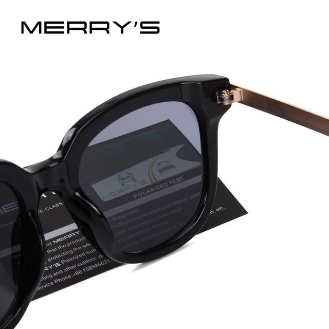 c8e1f627a2 Online Shop MERRY S Women Classic Cat Eye Polarized Sunglasses Brand ...
