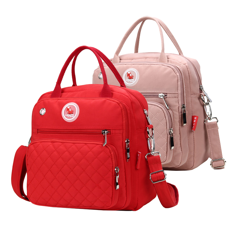 Купить с кэшбэком Mom Diaper Bag Waterproof Nylon Baby Nappy Bag Women Travel Backpakc for Baby Nursing Maternity Bag bolsa maternidade 4 Colors