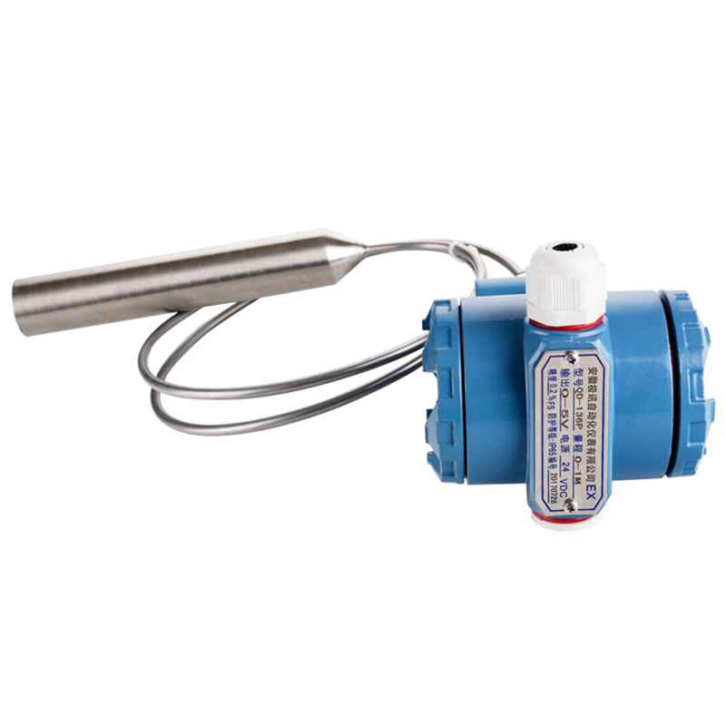 QDY60B датчик уровня дизельного топливного бака датчик уровня масляного бака датчик уровня горячей воды 4 20мА выход, DC24V